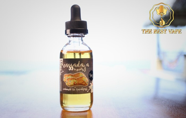 Tinh dầu vape mỹ BE BREAKFAST by Cassadaga 60ml
