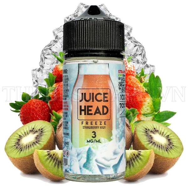 Tinh dầu vape mỹ Freeze Strawberry Kiwi 100ml - Juice Head