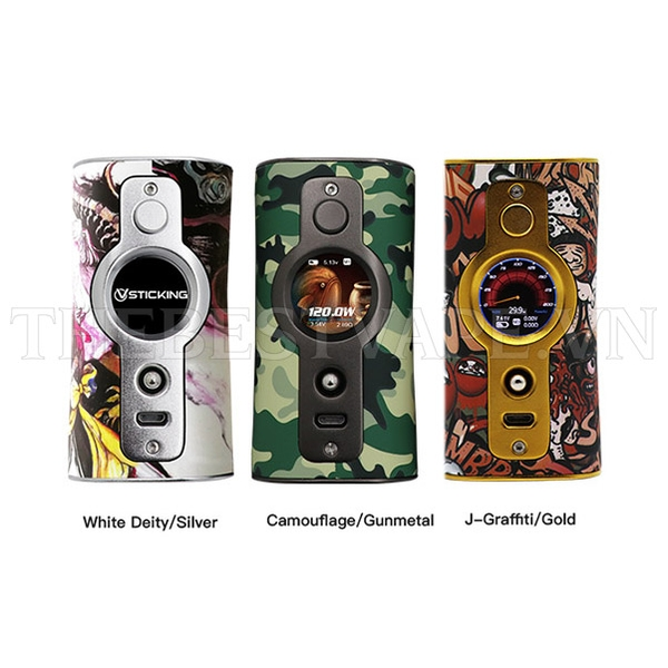 VK530 Box Mod 200w Vsticking