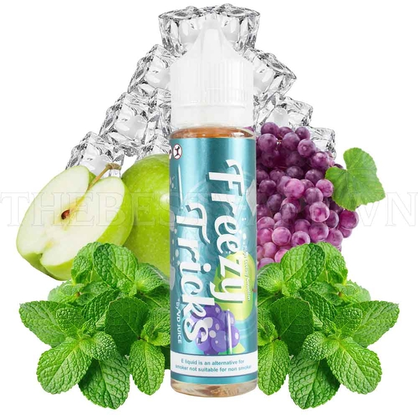 Tinh dầu vape malaysia Grape Apple Freezy Tricks 60ml