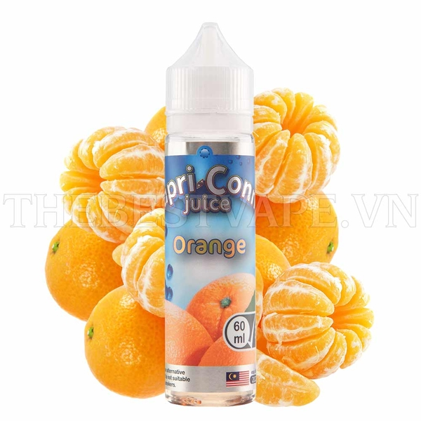 Orange 0 Nicotine by CapriConne 60ml