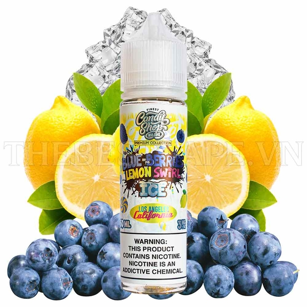 Finest - FB Blueberries Lemon 60ml ( Việt Quất Chanh )