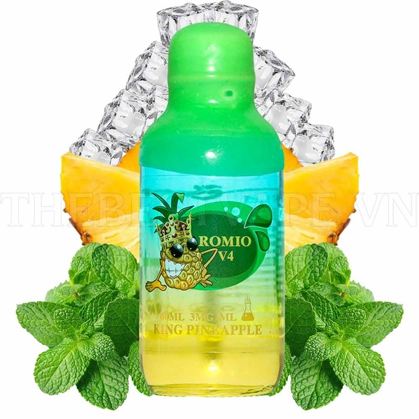 Tinh dầu vape King Pineapple Romio 60ml