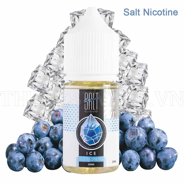 Tinh dầu vape Salt Nicotine BlueRaspberry ice Super Salt 30ml