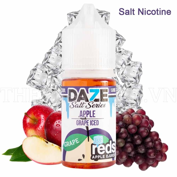 Tinh dầu vape mỹ salt nicotine grape RedsApple 30ml