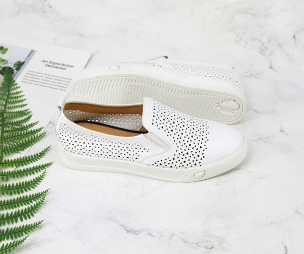 Giày bệt Slipon da dêClark da mềm
