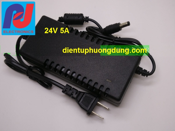 Adapter 24VDC 5A