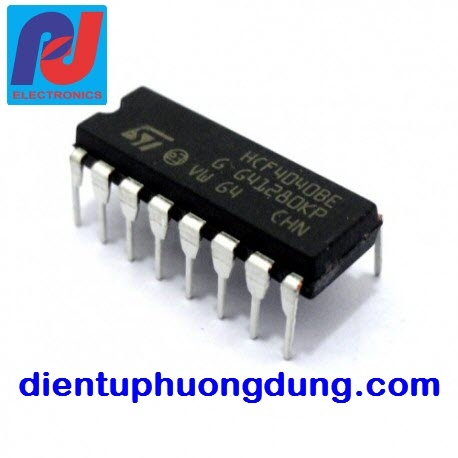 CD4040 12-stage binary ripple counter