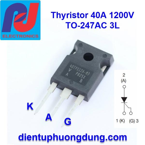 Thyristor 40A 1200V TO-247AC 3L