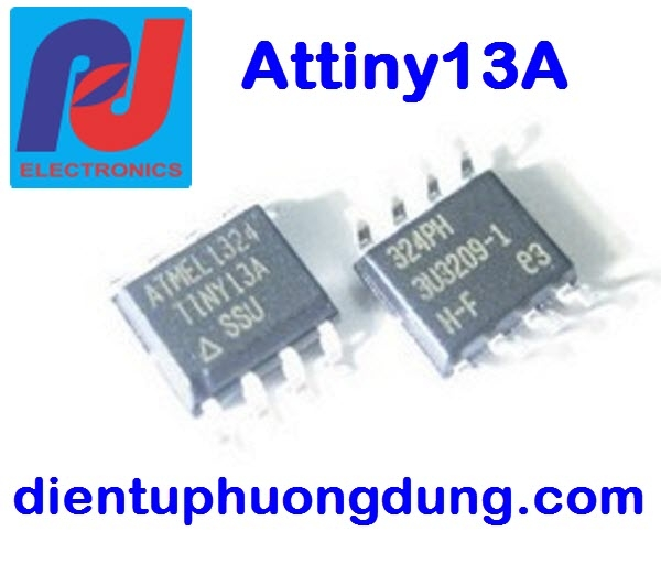 Attiny13A - dán SO 8