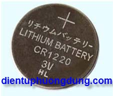 Pin CMOS CR1220 3V Lithium Battery