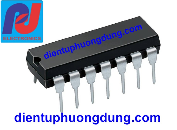 CD4011 Quad 2-Input NAND Gate