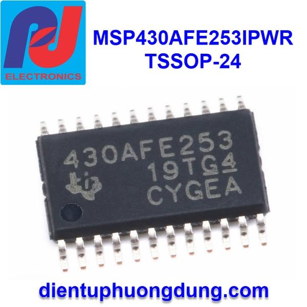 MSP430AFE253IPWR TSSOP-24