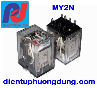 Relay MY2N 12VDC, 24VDC, 220VAC