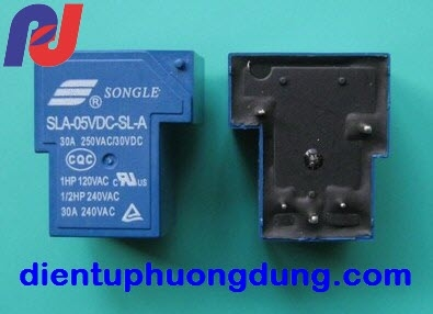 Relay Songle T90 5V 30A 5C SLA 5VDC SL A