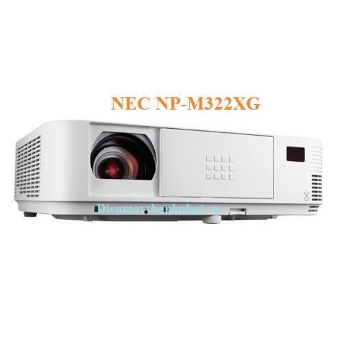 may-chieu-nec-np-m322xg