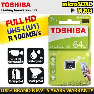 Thẻ nhớ Toshiba Micro SDXC 64GB 100MB/s Thế giới thẻ nhớ