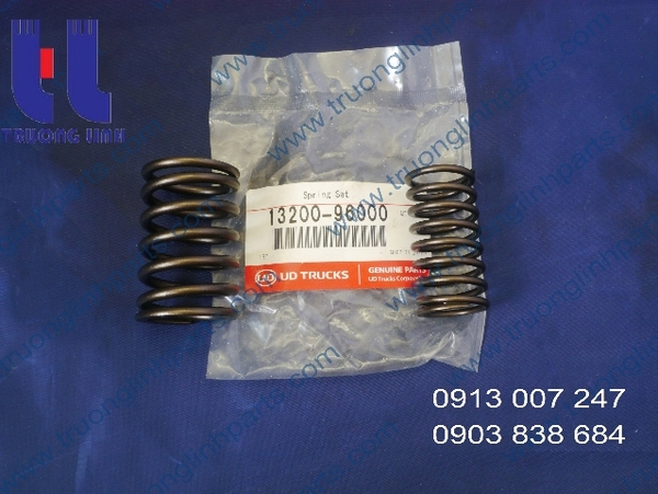 Spring, Valve of Nissan PE6T for Wheel Loader Kawasaki