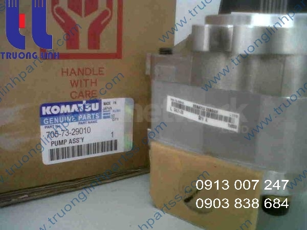 TRANMISSION PUMP 705-73-29010 for Komatsu WA100-1 WA120-1 WA150-1 WA180-1 Wheel Loader