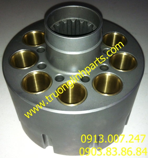 Cylinder E200B of hydraulic pump, Caterpillar