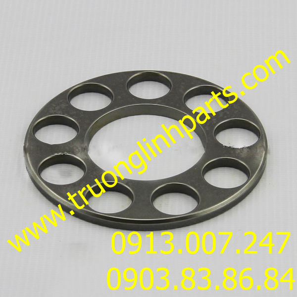 RETAINER PLATE PVD22 of hydraulic pump, Mitsubishi MS110-5/8, MS120/140, SK05...Excavator