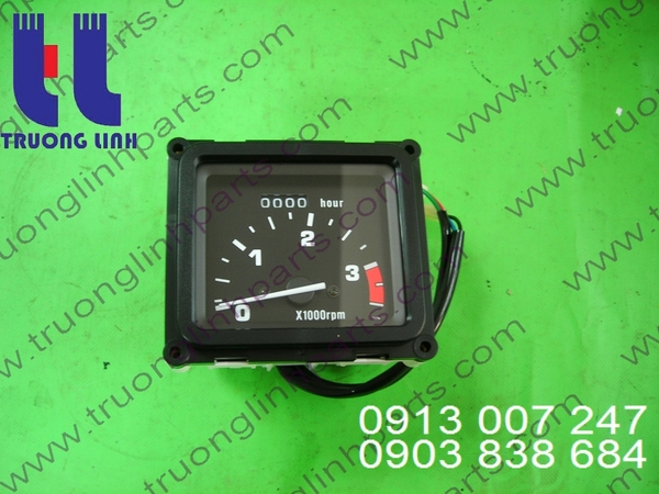 Clock, speed of Tadano for Crane
