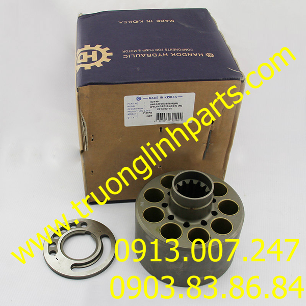VALVE PLATE E325- E324 of hydraulic pump, Caterpillar