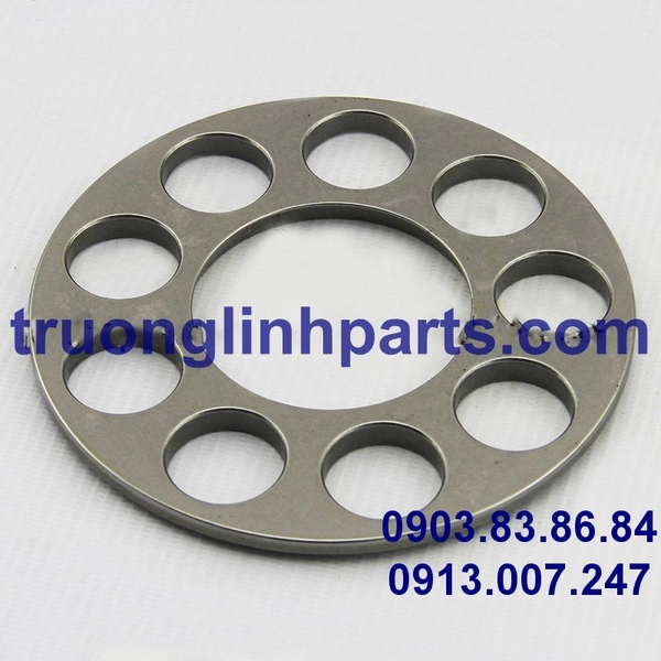 RETAINER PLATE HPV140 of hydraulic pump, Komatsu PC300/350/360-7