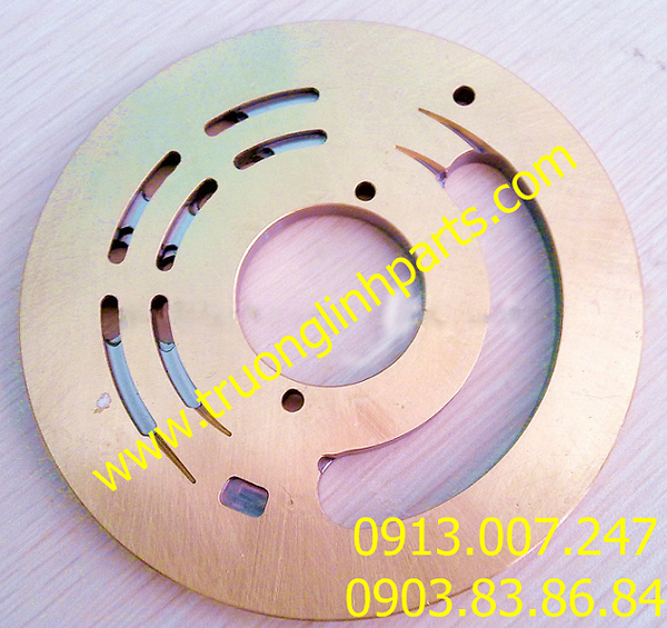 VALVE PLATE PSVD2-27 of hydraulic pump, Kayaba