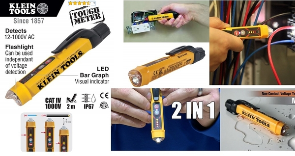but-do-day-dien-dut-klein-tools-ncvt-3-non-contact-voltage-tester-with-flashligh