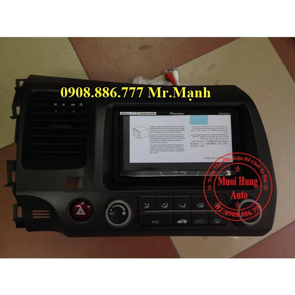 man-hinh-dvd-pioneer-8850bt-honda-civic-2010
