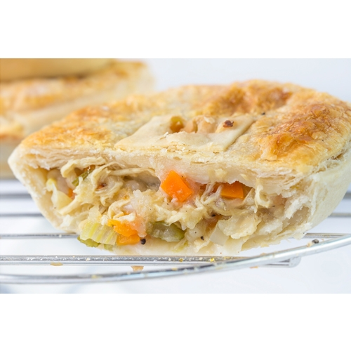 Chicken & Vegetable Meat Pie
