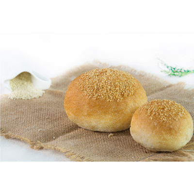 Whole Wheat Hamburger Bun (5p/pack)