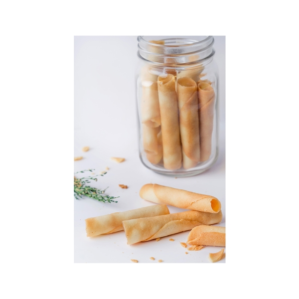 Cinnamon Cigarette Cookies 150g