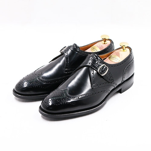 WINGTIP SINGLE MONK STRAP