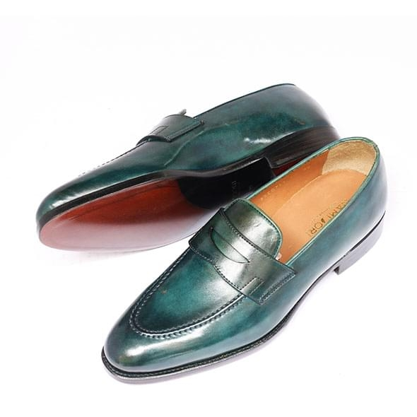 PENNY LOAFER - PATINA GREEN
