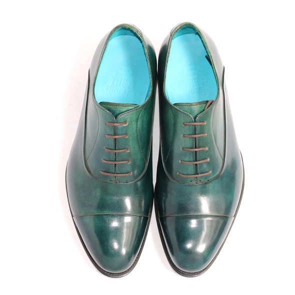 HIDDEN CAP TOE OXFORD