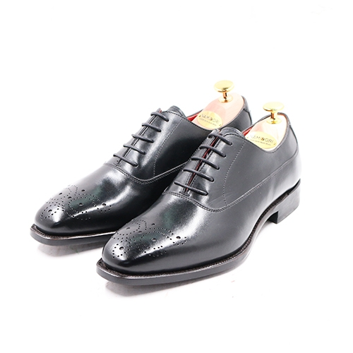 PLAIN TOE OXFORD BLACK