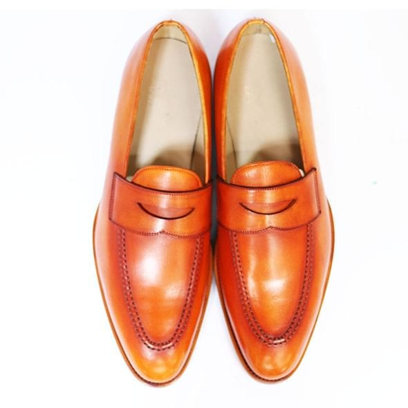 PENNY LOAFER - PATINA TAN