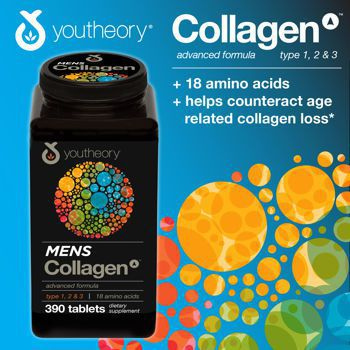 Collagen dành cho nam giới Collagen Advanced 1,2,3 For Men 390 viên
