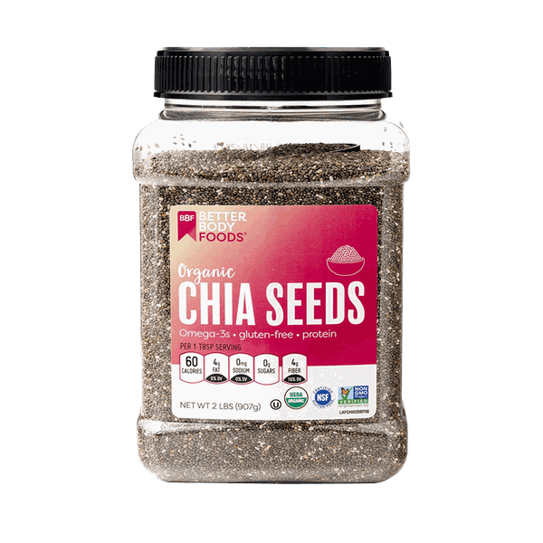 Hạt Chia Seed BetterBody Foods Organic 907g
