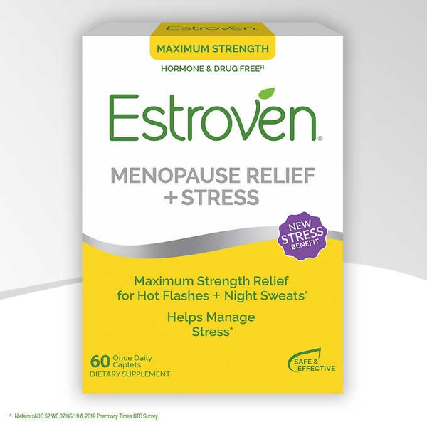 Estroven Maximum Strength + Energy 60 viên