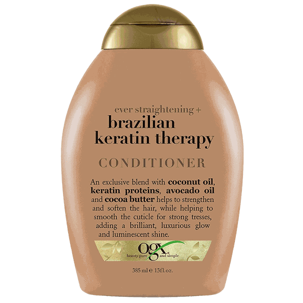 Dầu xả Ever Straight Brazilian keratin therapy 385ml