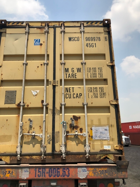 Container 40Feet HC WSCU 9669786