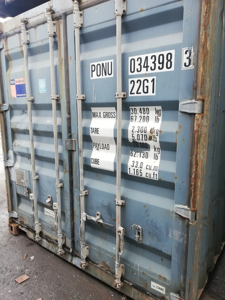 Container 20Feet PONU 0343983