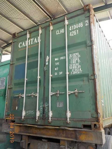 Container 40 feet CLHU 4194462