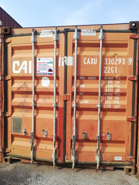 Container 20Feet CAXU 3302939