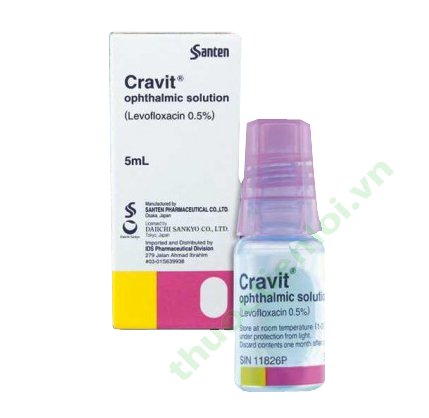 CRAVIT OPHTHALMIC SOL 5ML