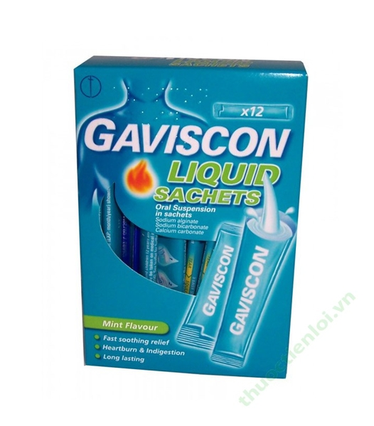 GAVISCON SUSPENSION B/24 SAC X 10ML