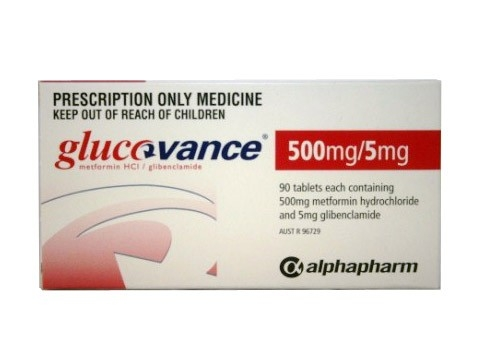 GLUCOVANCE 500MG/5MG